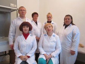 specialists of laboratory