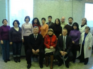 Employees of the Department of Virology (December 2011)