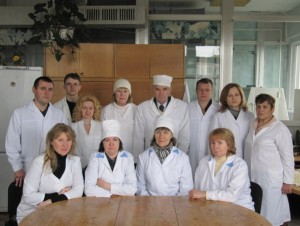 Staff of laboratory