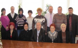 Staff of the laboratory of anaerobic (2012)