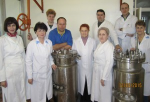 Staff of the laboratory of anaerobic (2015)