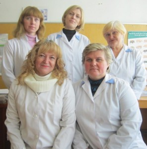 Staff of the laboratory
